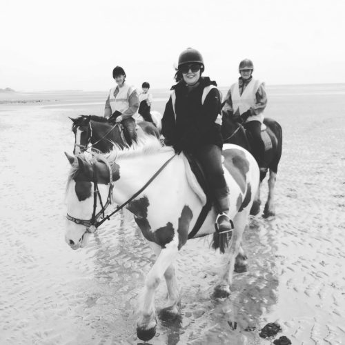 #MySundayPhoto - Beach Riding Bliss
