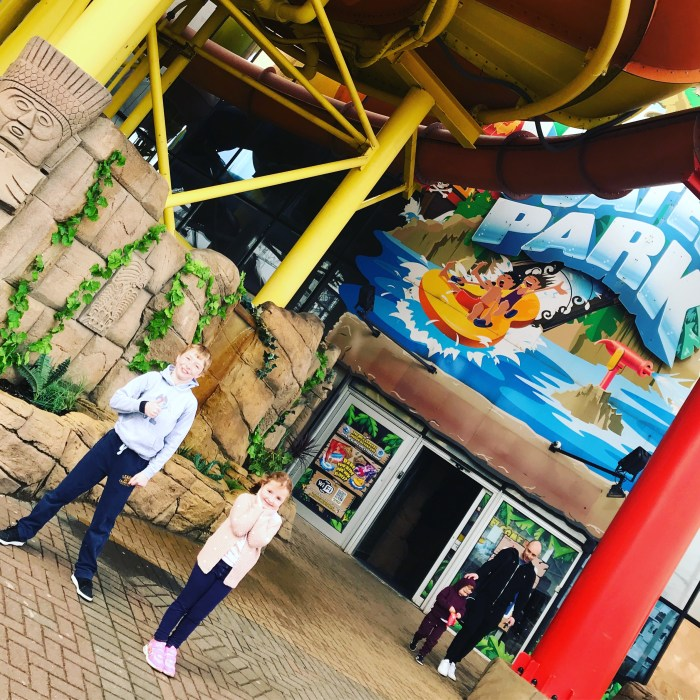 Riding & Sliding At The Sandcastle Waterpark