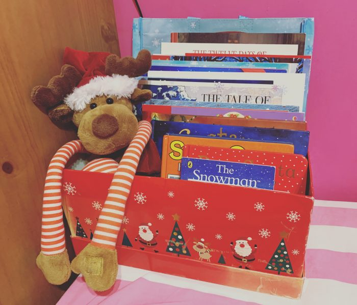 #TheOrdinaryMoments - Our Christmas Book Box