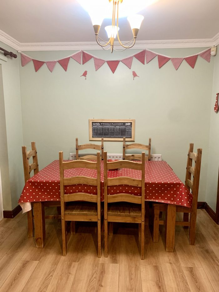 #TheOrdinaryMoments – Decorating The Dining Room