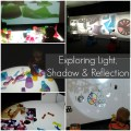light, shadow, reflection, reggio, light table, ipswich art museum