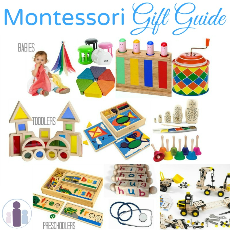Toys For 20 : Montessori gifts for babies toddlers and preschoolers