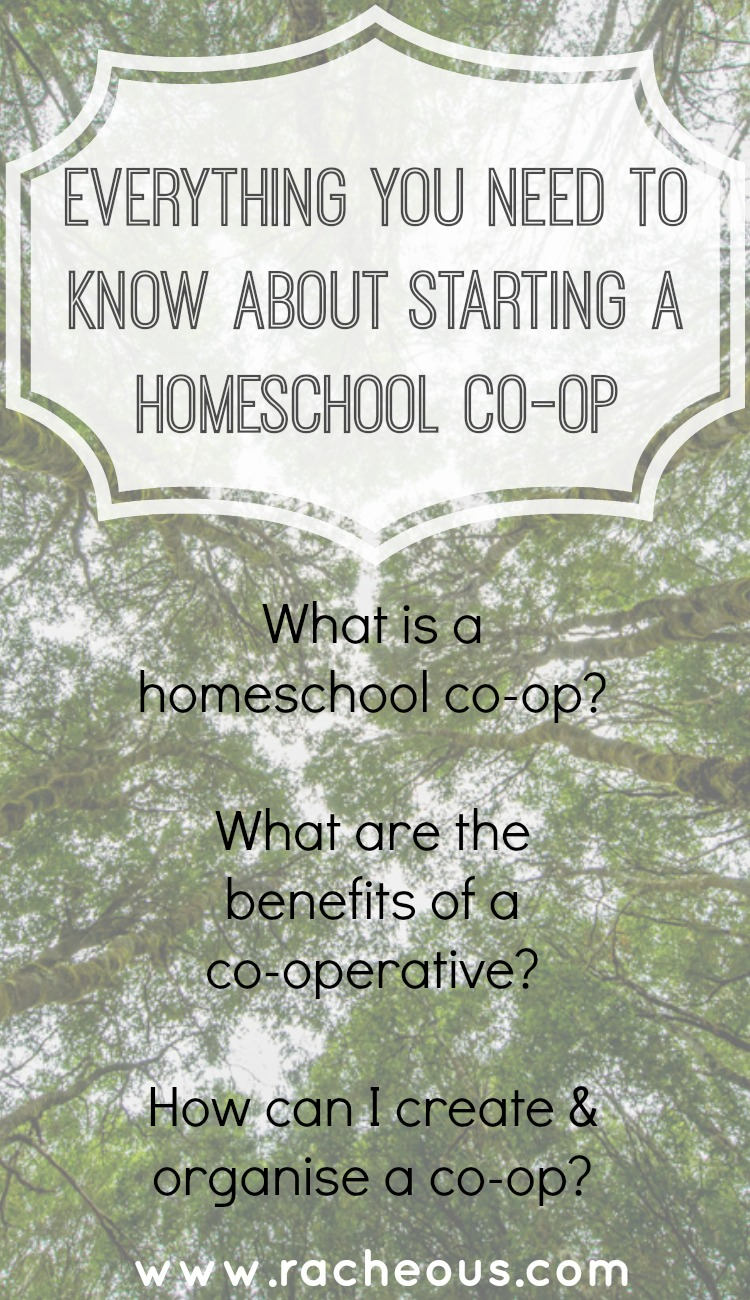 everything you need to know about starting a homeschool co-op