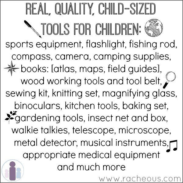 real tools for kids