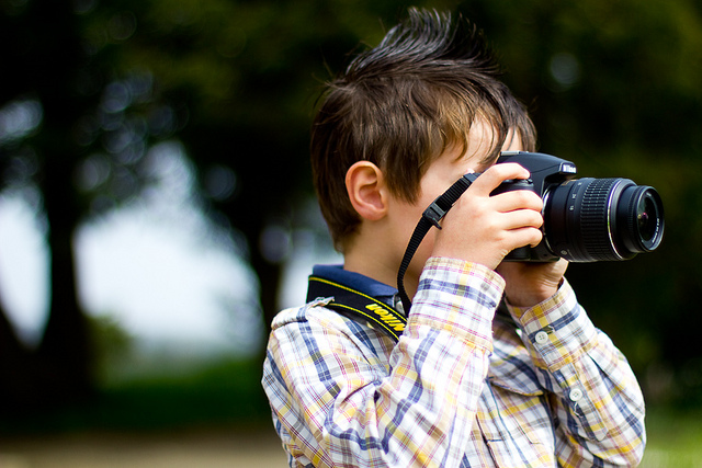 Teaching Photography to Children
