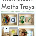 Montessori Maths Trays Racheous - Lovable Learning