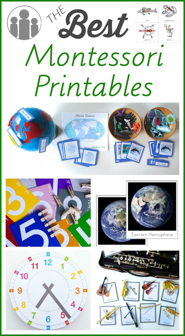 The Best Montessori Printables Racheous