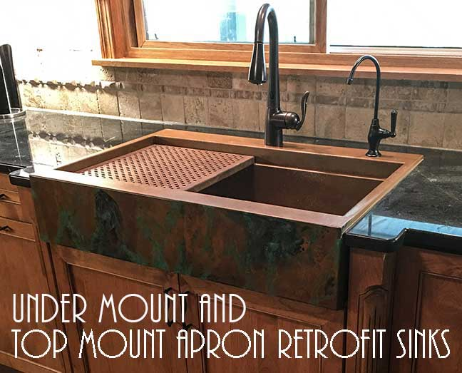 Custom And Stock Copper Kitchen Sinks And Stainless