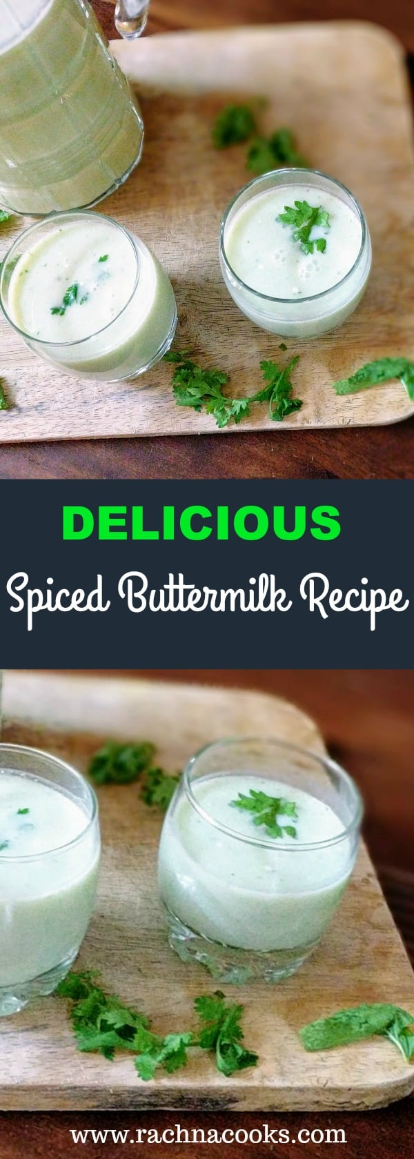 spiced buttermilk recipe