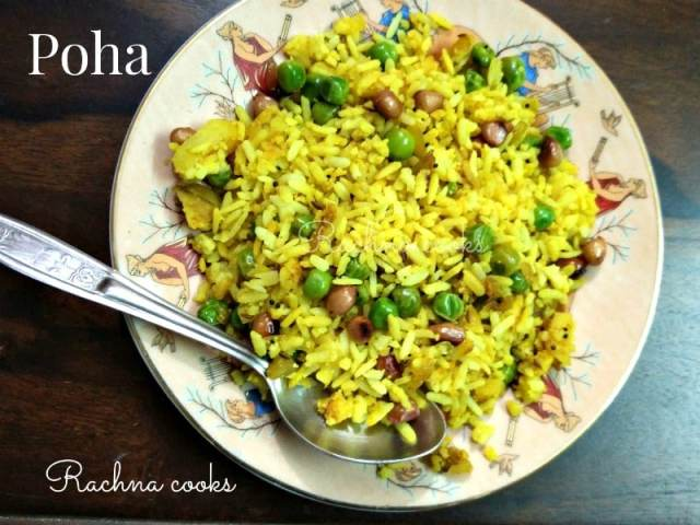 Easy poha recipe