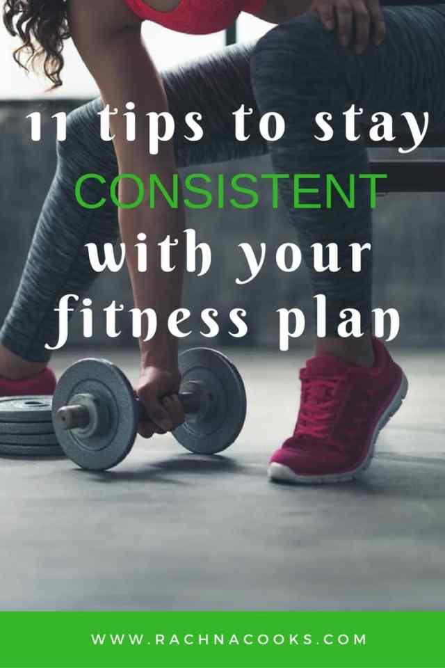 consistent fitness plan