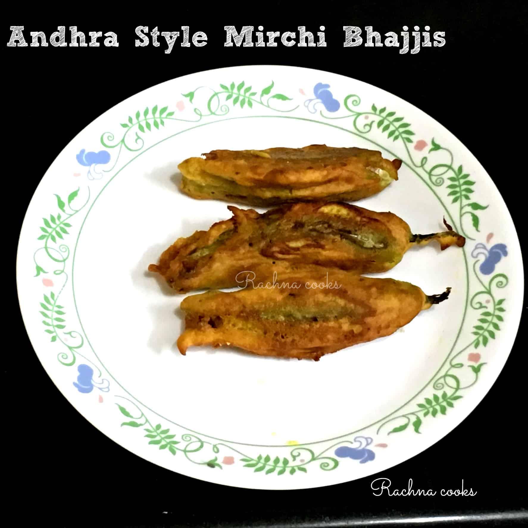 Mirchi Bajji Andhra Style | Mirchi Bhajiya Recipe