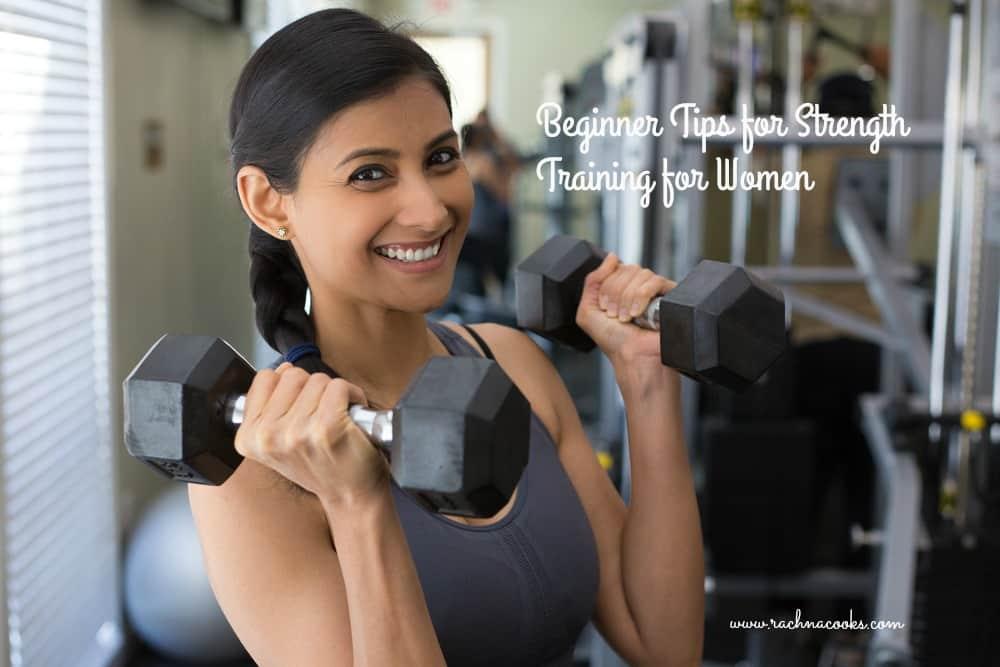 beginner tips strength training women