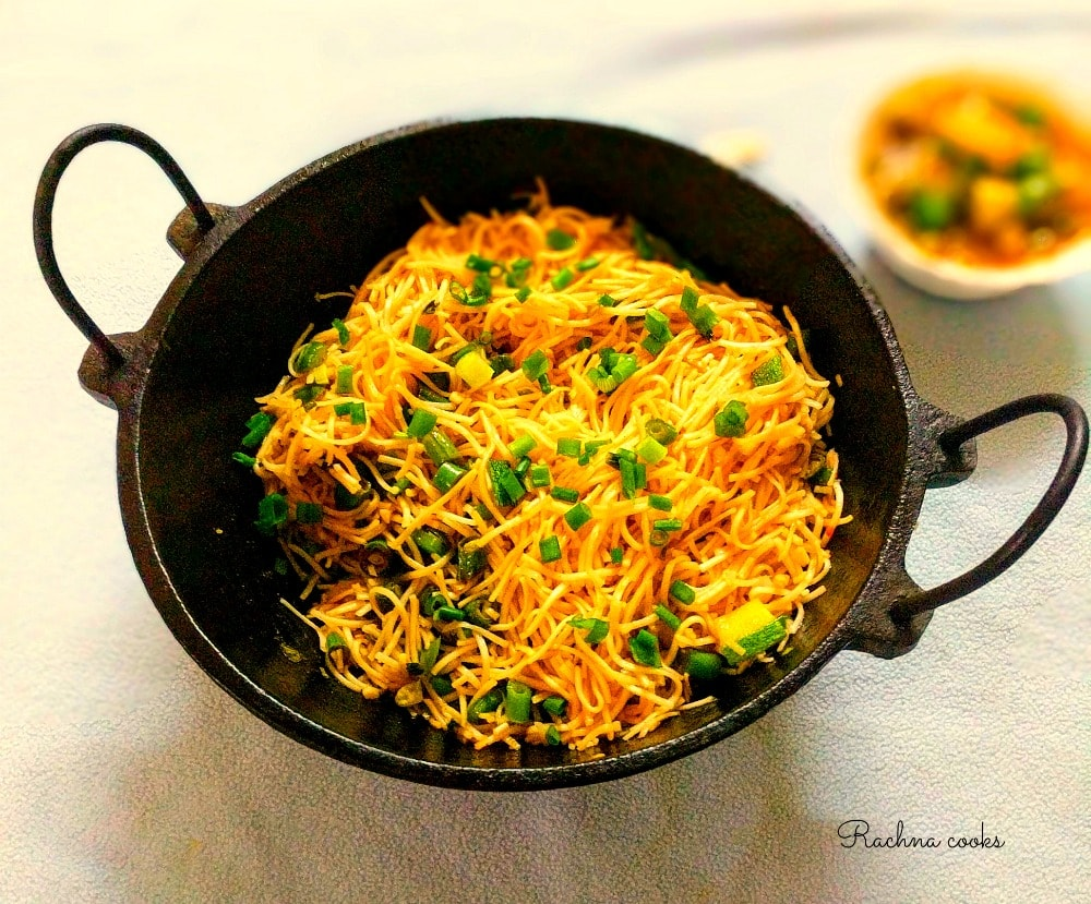 Vegetable Hakka Noodles Recipe Restaurant Style