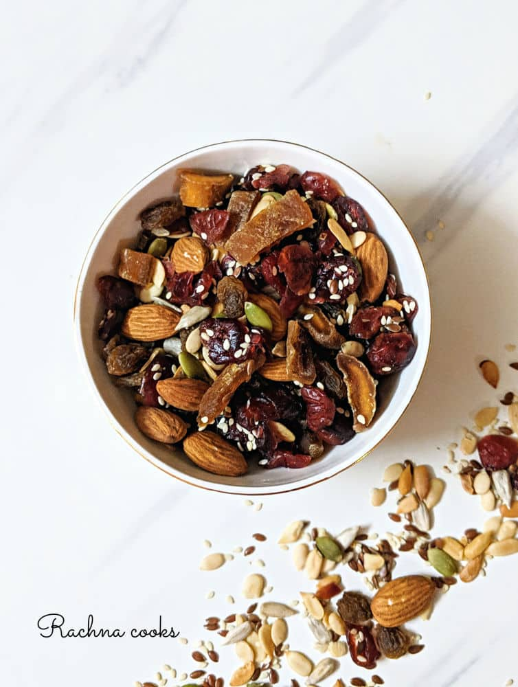 Healthy Trail Mix Recipe | How to Make Your Own Trail Mix