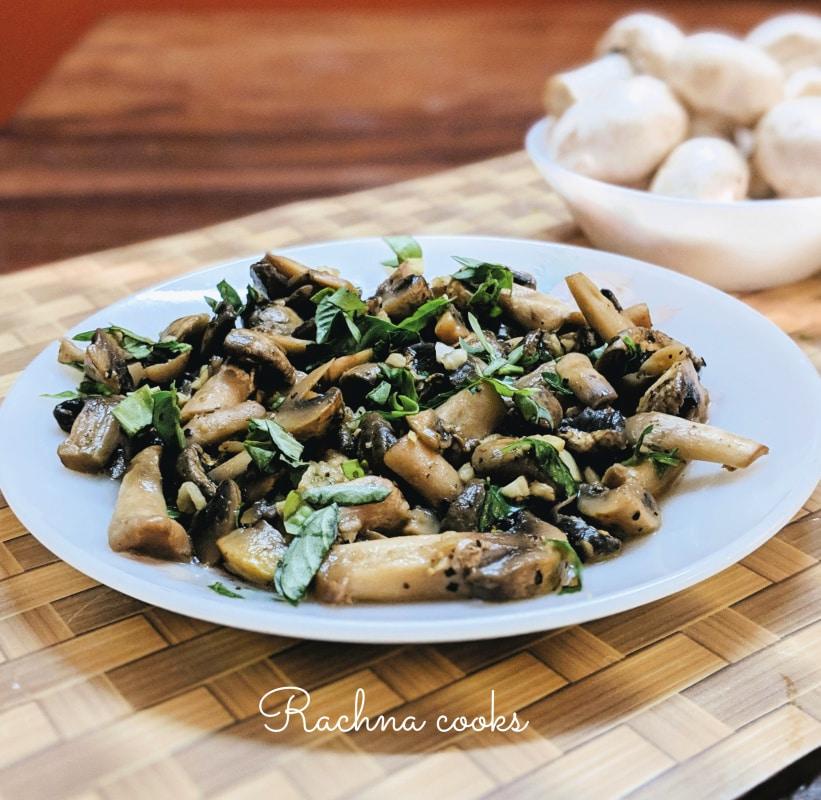 easy mushroom stir fry recipe