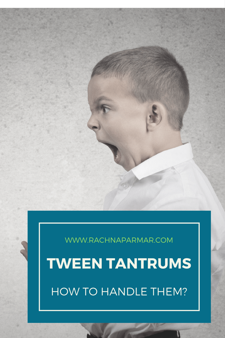 Tween Tantrums: How to Handle Them?