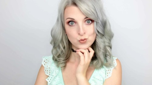 How to keep silver hair - After toner