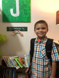 First day of school Racine, Wisconsin