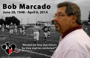 Longtime Racine Raiders general manager Bob Marcado passed away at the age of 65.