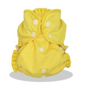 Taille Unique TU Zeste de citron couches lavables Applecheeks 1