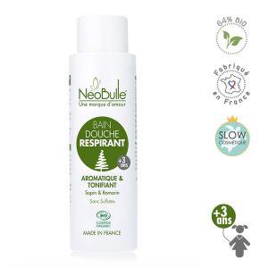 bain douche respirant - bio - biologique - sapin et romarin - bébé - enfant - neobulle
