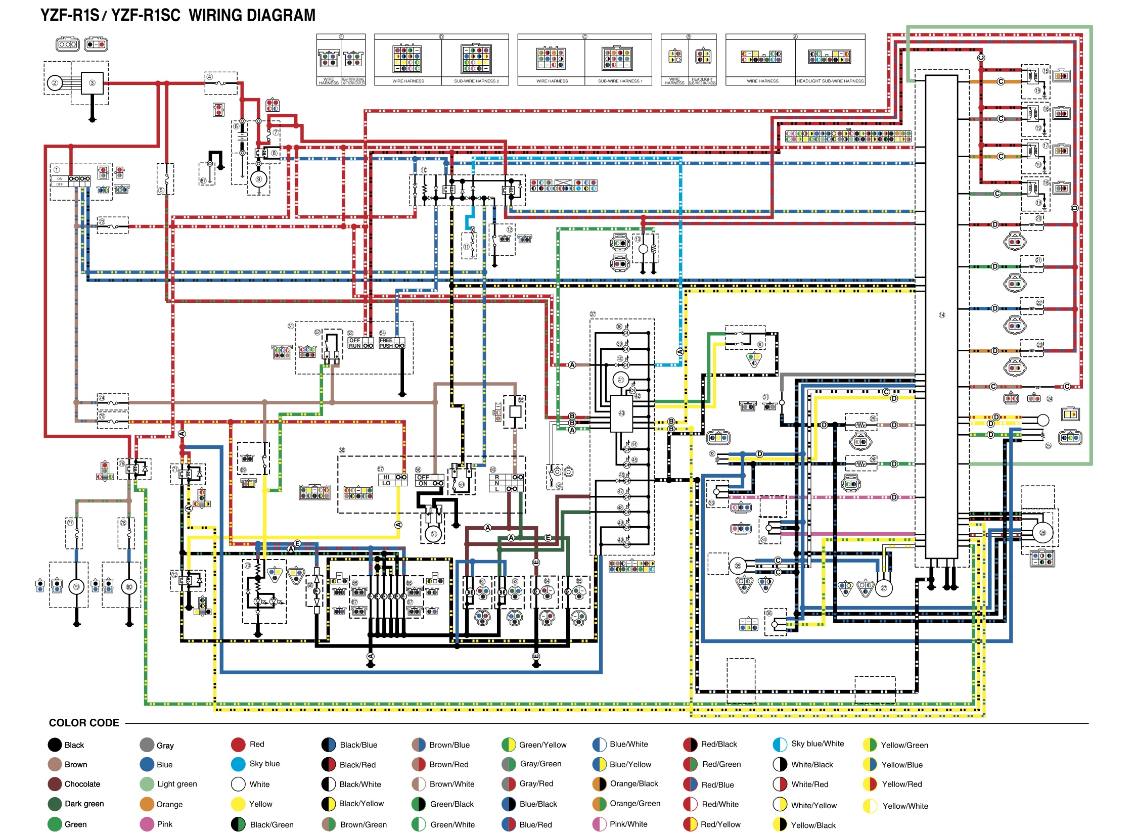 Yamaha Rhino Ignition Switch Wiring Diagram Starting Know About Ford 5000 Free 1999 R6 2000 Ecu U2022 Mifinder Co
