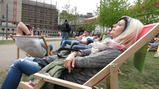 Abasseln in Berlin an der Spree