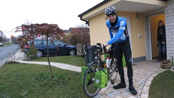 Start zur Ostsee Tour
