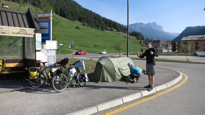 Schweizer trekkingduo