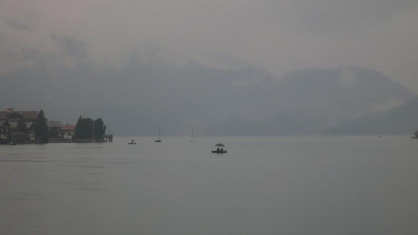 Walchensee im Regen