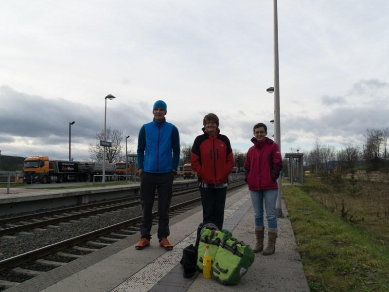Bahnhof Stadtroda Abschied
