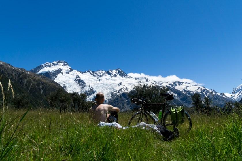 Mt Cook Gletscher