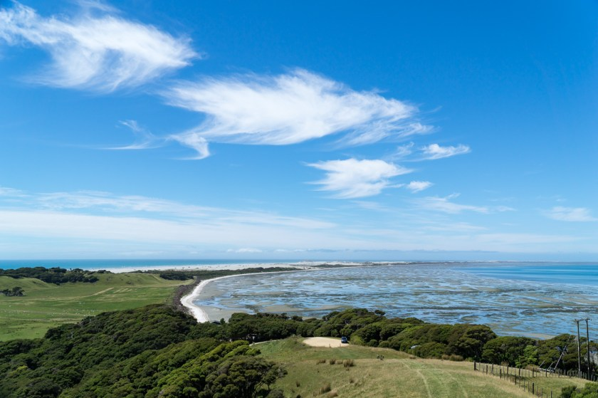 Farewell Spit Norden Südinsel Neuseeland