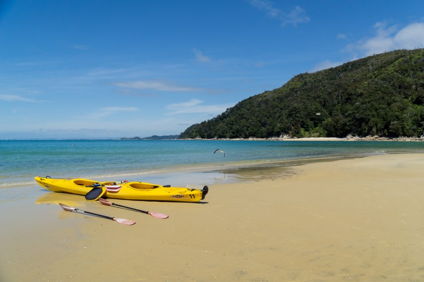 Kajacking Abel Tasmen national Park