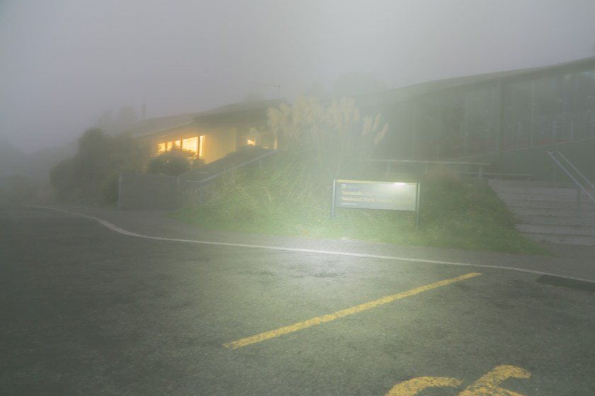 Mt Egmont visitor center