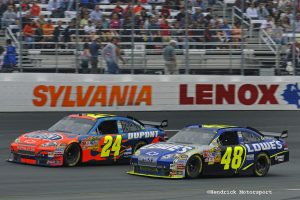 2008 NASCAR Sprint Cup Series New Hampshire