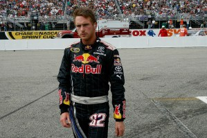 2010_NHMS_Sept_NSCS_race_Scott_Speed_walks_from_car