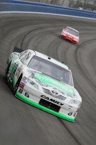 2011_Auto_Club_NSCS_Kyle_Busch_on_track
