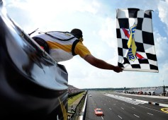 2012_Pocono_June_Sprint_Cup_Joey_Logano_Takes_The_Checkered_Flag