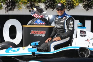 Juan Pablo Montoya (c) Chris Jones/IndyCarMedia