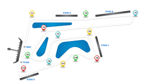 Chang International Circuit Track Layout
