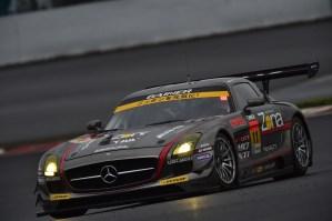 Super GT Fuji 2014 Gainer Dixcel SLS