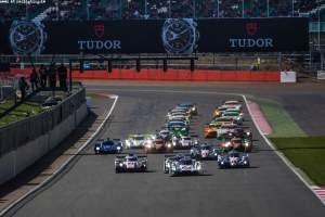Start - FIA WEC 6 hours of Silverstone at Northamptonshire - Towcester - United Kingdom