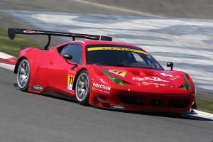 Super GT 2015 Fuji Test Direction Racing Ferrari 458