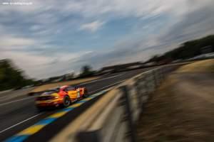 Car #99 / ASTON MARTIN RACING V8 (GBR) / ASTON MARTIN VANTAGE V8 / Fernando REES (BRA) / Alex MACDOWALL (GBR) / Richie STANAWAY (NZL) - Le Mans 24 Hours at Circuit Des 24 Heures - Le Mans - France