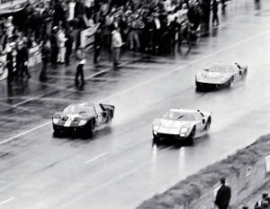 1966 Le Mans finish 1