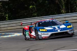 #67 FORD CHIP GANASSI TEAM UK (USA) / MICHELIN / FORD GT / Marino FRANCHITTI (GBR) / Andy PRIAULX (GBR) / Harry TINCKNELL (GBR)Le Mans 24 Hour - Circuit des 24H du Mans  - Le Mans - France