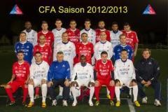 L'équipe de l'ASM Belfort