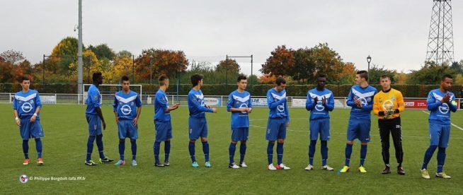 L'équipe U19 du RCSA aligné contre Dijon